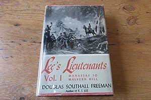 LEE'S LIEUTENANTS A Study in Command Vol.: Freeman, Douglas Southall