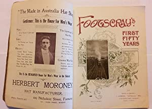 FOOTSCRAY'S FIRST FIFTY YEARS: Michell, H. (edited