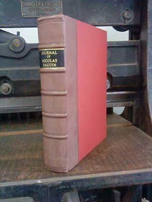 THE JOURNAL OF POST CAPTAIN NICOLAS BAUDIN: Baudin, Nicolas