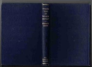 TWELVE TIPS ON WINDOW DISPLAY: Casson, Herbert N.