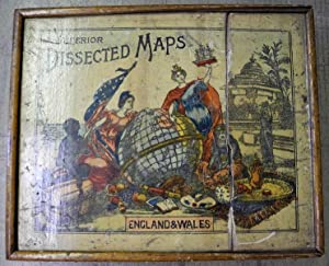 Superior dissected maps. England & Wales: Gall & Ingliss
