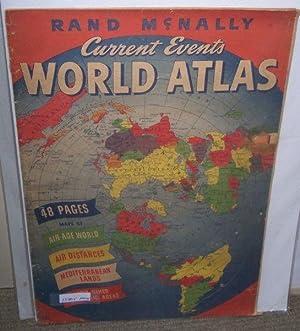 Rand McNally Current Events World Atlas.: RAND MCNALLY &