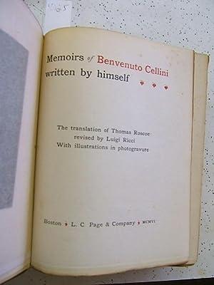 Memoirs of Benvenuto Cellini