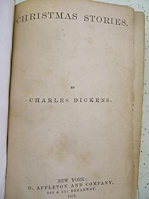 CHRISTMAS STORIES: Dickens, Charles