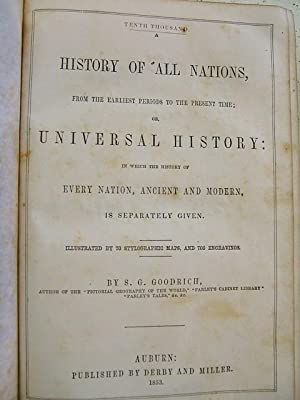 History of All Nations: S. G. Goodrich