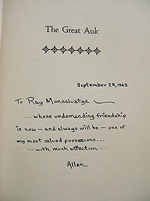 The Great Auk: Allan W. Eckert