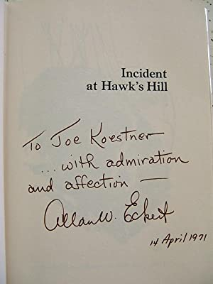 Incident at Hawk's Hill: Allan W. Eckert