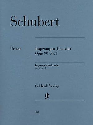 Impromptu In Gb Major Op. 90 Nr.: Schubert, Franz,
