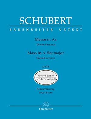 Mass In A Flat Major, D. 678: Schubert, Franz,