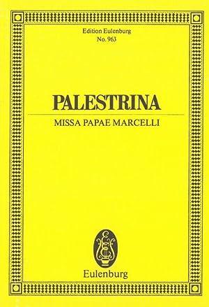Missa Papae Marcelli.: Palestrina, Giovanni,