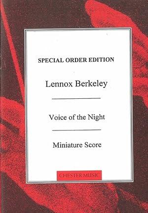 Voices Of The Night, Op. 86 : Berkeley, Lennox,