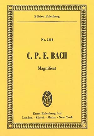 Magnificat : For Five Soli, Chorus and: Bach, Carl Philipp