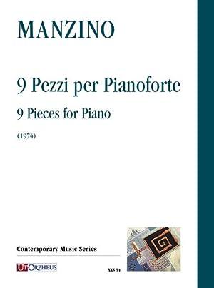 9 Pezzi : Per Pianoforte (1974) /: Manzino, Giuseppe,