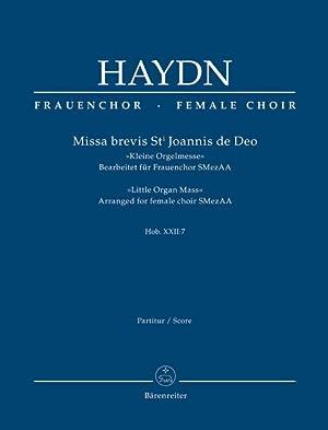 Missa Brevis St. Joannis De Deo (Kleine: Haydn, Joseph,