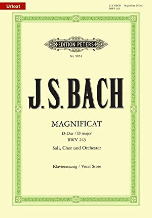 Magnificat In D Major, BWV 243 : Bach, Johann Sebastian,