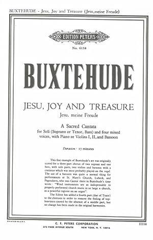 Jesus, Joy and Treasure = Jesu, Meine: Buxtehude, Dietrich,