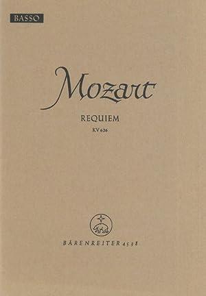 Requiem, K. 626 : Basso Part.: Mozart, Wolfgang Amadeus,