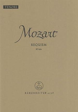 Requiem, K. 626 : Tenore Part.: Mozart, Wolfgang Amadeus,