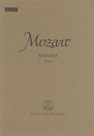 Requiem, K. 626 : Alto Part.: Mozart, Wolfgang Amadeus,