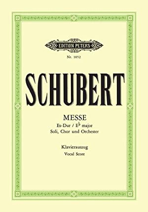 Mass In Eb Major, D 950 : Schubert, Franz,