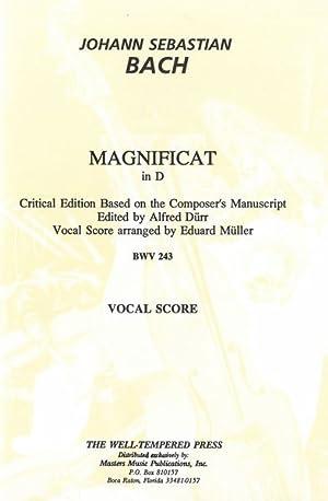 Magnificat In D, BWV 243 [L] (Critical: Bach, Johann Sebastian,