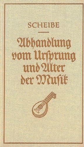 Abhandlung Vom Ursprung und Alter der Musik : Reprint der Originalausgabe von 1754.