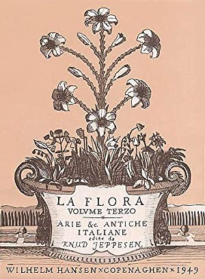 Flora, Vol. 3 : For High Voice