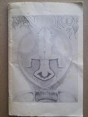 Man Root #3 - Magazine/Journal 1970: Edited by Paul Maria. Jean Cocteau, Frank O'hara, Gerald ...