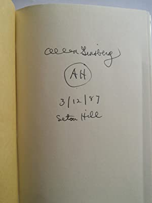 White Shroud Poems 1980-1985: Allen Ginsberg