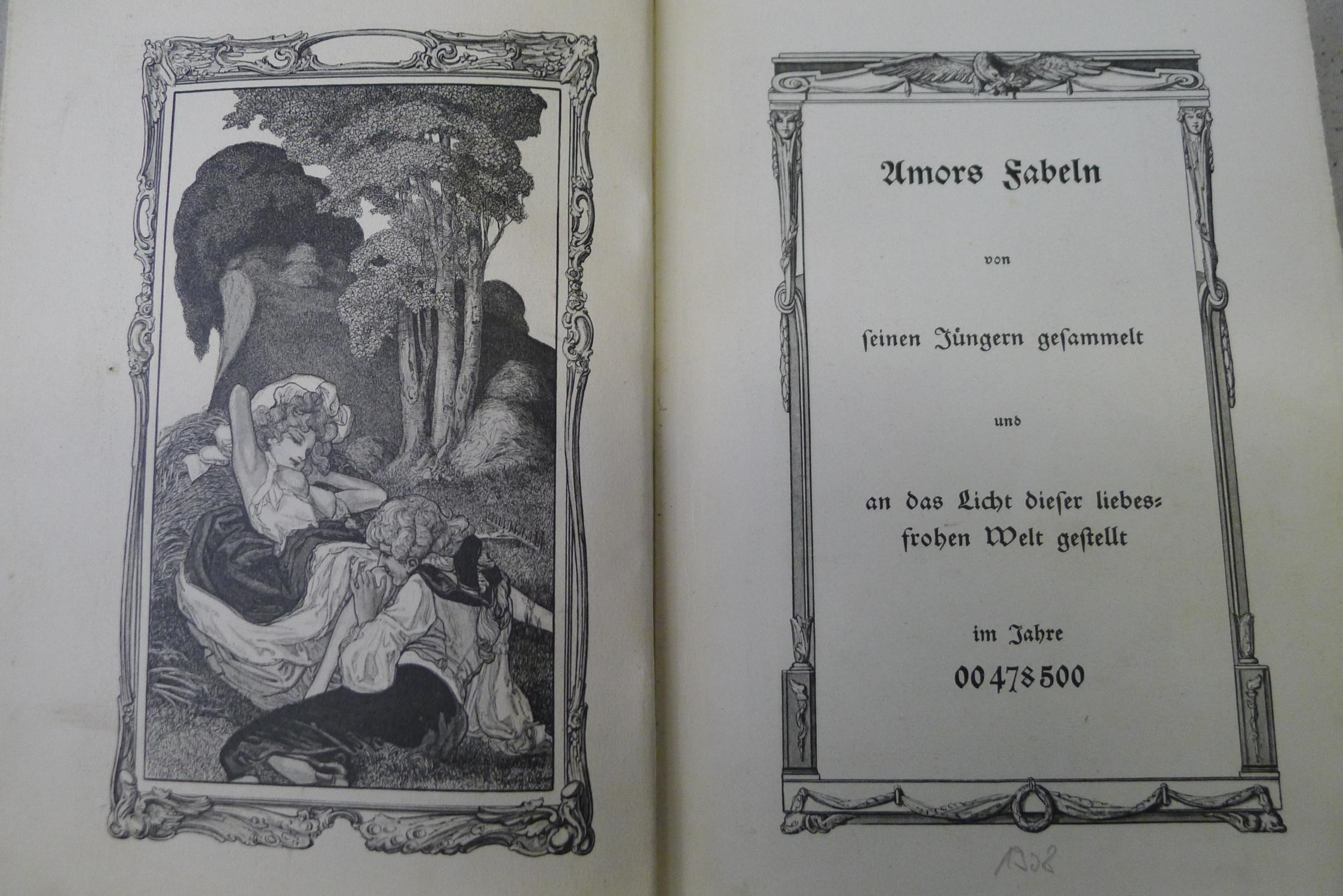 Amors Fabeln von seinen Jüngern gesammelt und: Cythere: