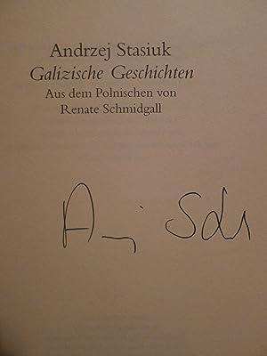 Galizische Geschichten, Aus dem Polnischen von Renate Schmidgall,: Stasiuk, Andrzej: