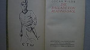Die Ballade von Reading Gaol, Mit einer Titelzeichnung von Alfred Kubin, Aus dem Englischen von ...