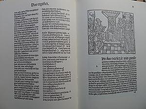 Die güldin bulle und künigclich reformacion, Straßburg 1485, Der erste illustrierte...