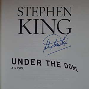 Under the dome, A novel,