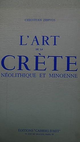 L'art de la Crete neolithique et minoenne,: Zervos, Christian: