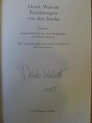 Erzählungen von den Inseln, Gedichte, Aus dem Amerikanischen von Klaus Martens,: Walcott, ...