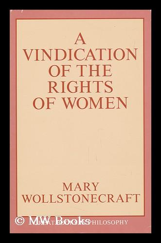 a vindication of the rights of women text