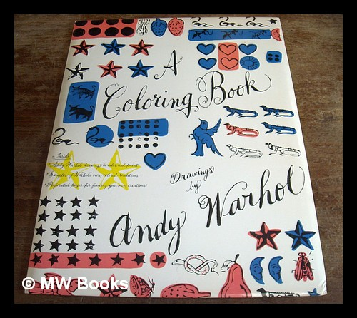 A Coloring Book - Drawings by Andy Warhol by Warhol, Andy (1928-1987 ...