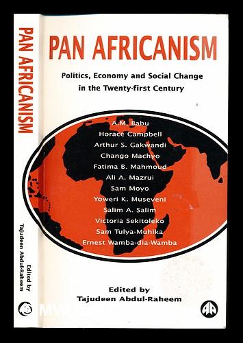 abdul raheem tajudeen - pan africanism politics economy social ...
