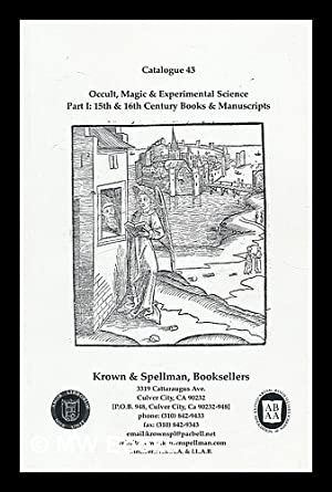 Occult, Magic and experimental science Part I: Krown and Spellman
