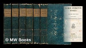 Lord Byron's works [12 volumes in 6 complete]: Byron, George Gordon Byron, Baron (1788-1824)