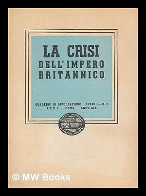 La Crisi dell'impero Britannico: Anonomous