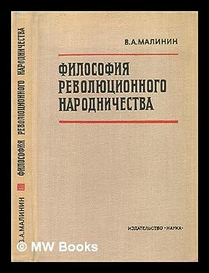 Filosofiya Revolyutsionnogo Narodnichestva [The philosophy of revolutionary populism. Language: ...