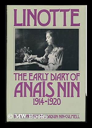 The Early Diary of Anais Nin -: Nin, Anais