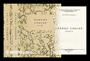 Novine Srpske 1816 [Serbian Newspapers 1816. Language: Serbian]: Srpska Akademija Nauka i Umetnosti