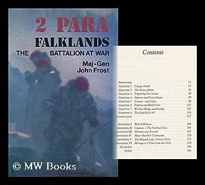 2 Para Falklands : the Battalion At War - [Uniform Title: Two Para Falklands]: Frost, John (1912-?)