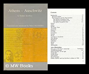Athens, Auschwitz / by Errikos Sevillias ; Translated and Introduced by Nikos Stavroulakis: ...
