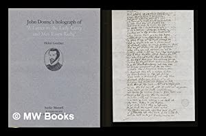 "John Donne's holograph of ""A letter to the Lady Carey and Mrs Essex Riche"" / [..."