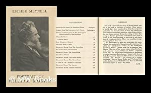 Portrait of William Morris: Meynell, Esther