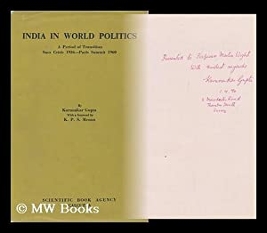 India in World Politics; a Period of Transition, Fall 1956 to Spring 1960 (From Suez Crisis to ...